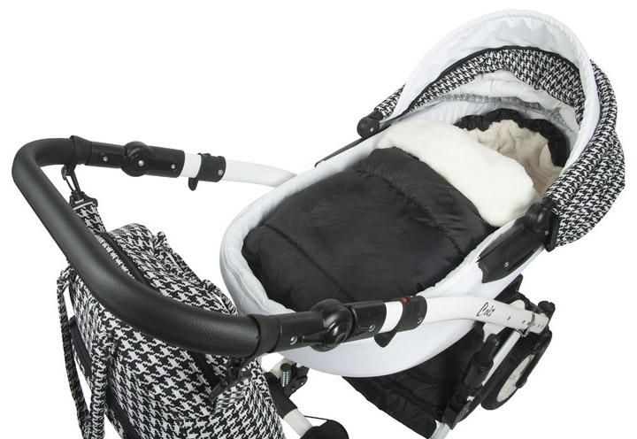 Fusák Delux Baby Nellys ® 105x50cm - černý