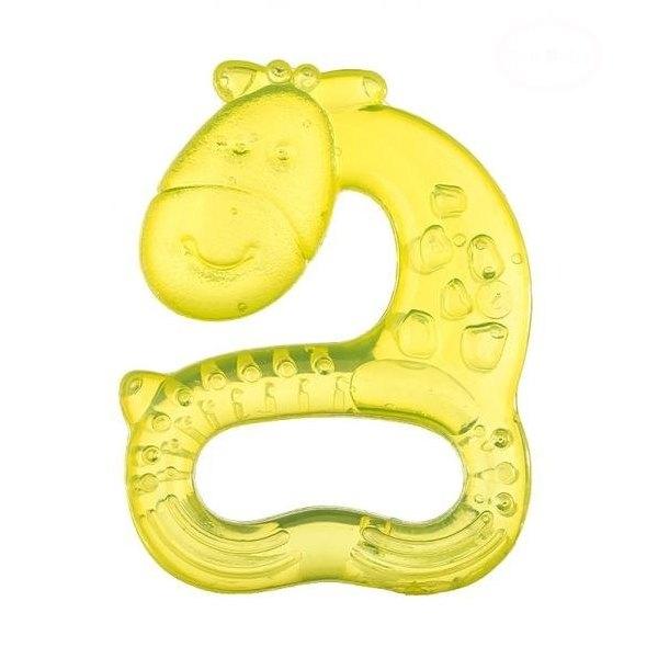 Kousátko vodní, chladící AKUKU Žirafa - žluté