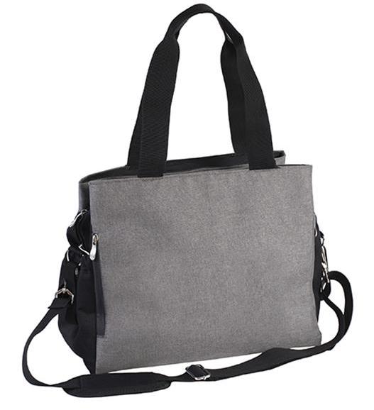 BabyOno Přebalovací taška ke kočárku SO ACTIVE! - šedo/černá