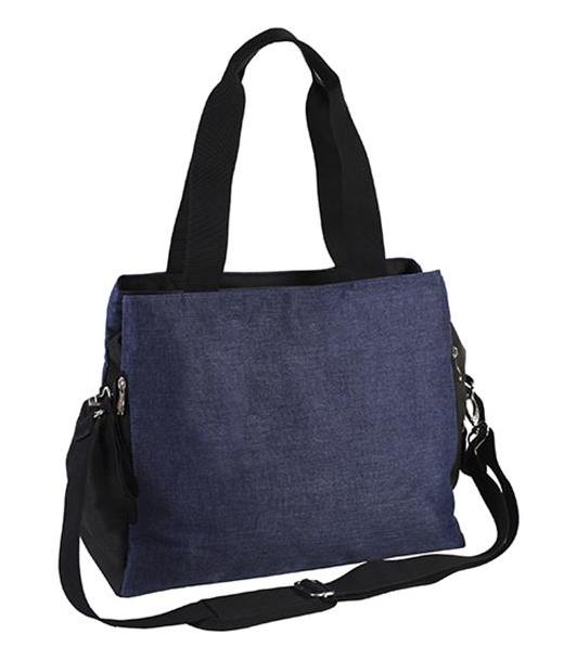BabyOno Přebalovací taška ke kočárku So Ative - jeans/černá