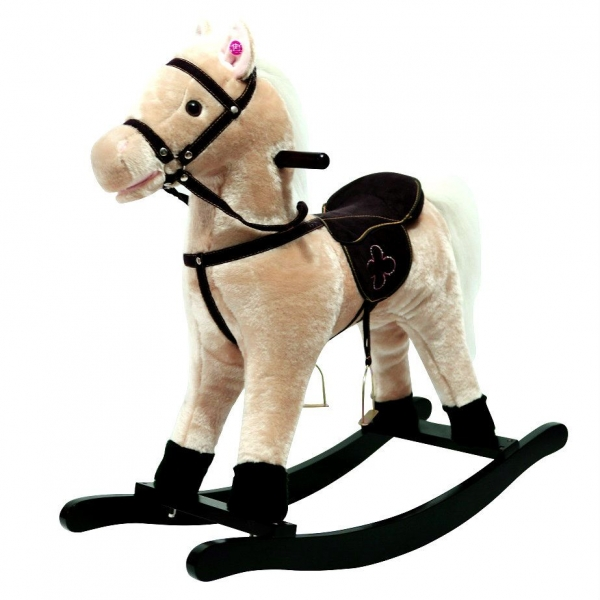 Houpací koník - béžový
