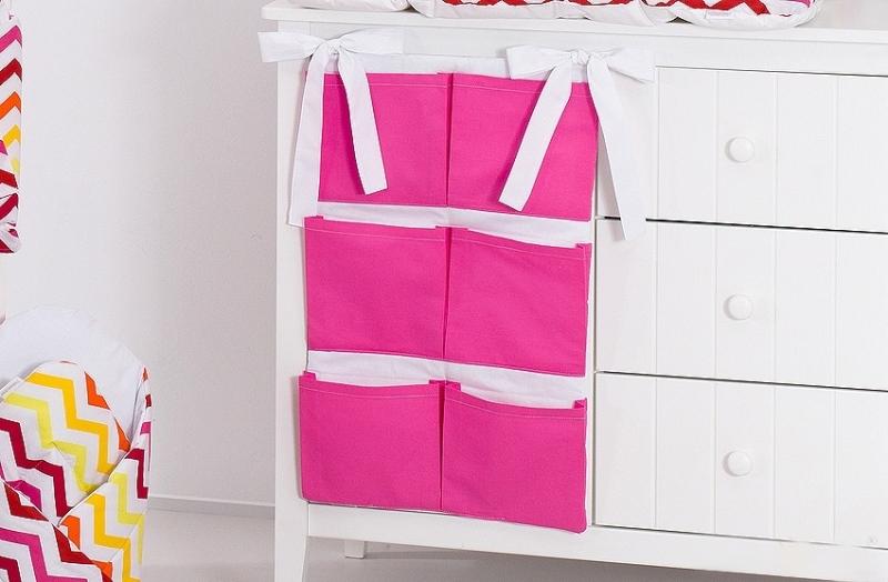Kapsář 40 x 65 cm - Tmavě růžový