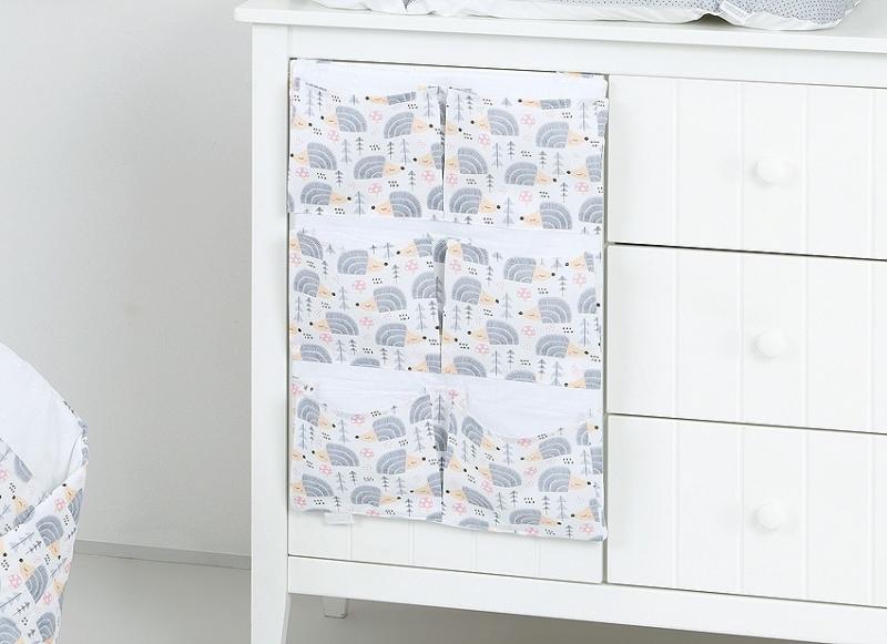 Kapsář 40 x 65 cm - Ježek šedý