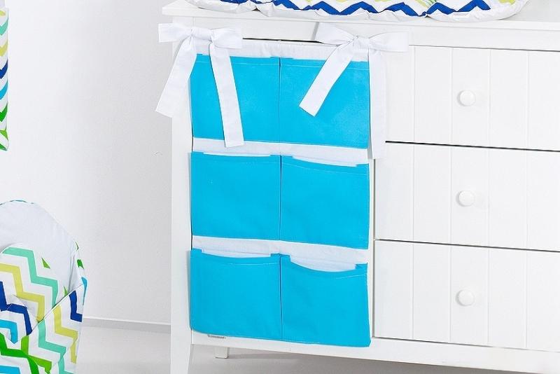 Kapsář 40 x 65 cm - Modrý