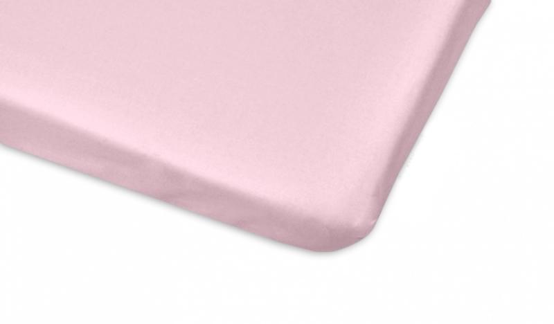 Mamo Tato Bavlněné prostěradlo 60x120cm - sv. růžová