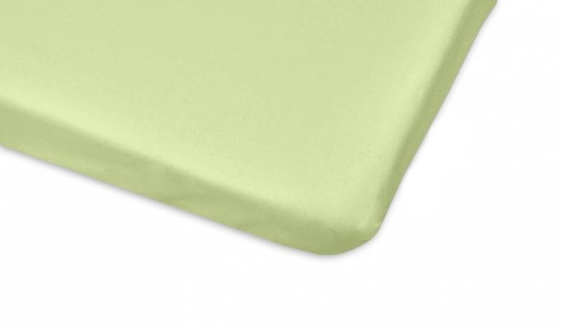 Mamo Tato Bavlněné prostěradlo 60x120cm - sv. zelená