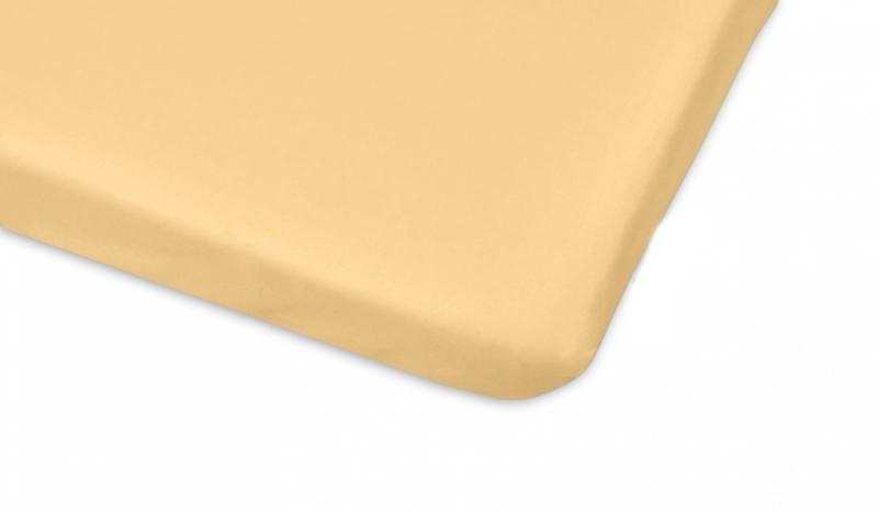 Mamo Tato Bavlněné prostěradlo 60x120cm - žlutá
