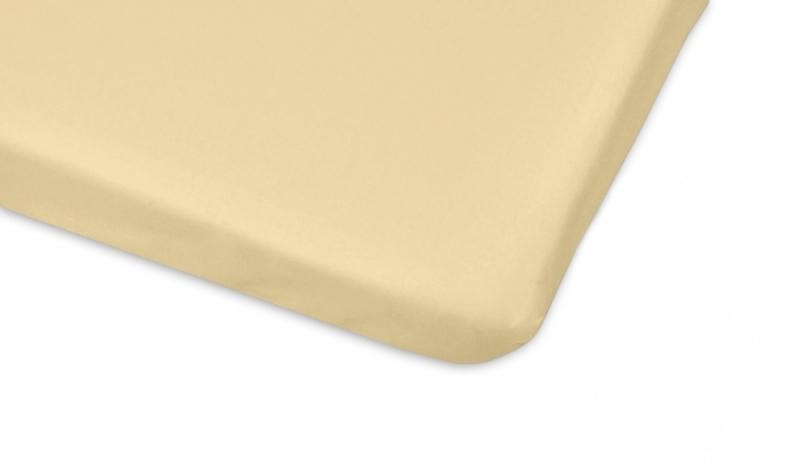 Mamo Tato Bavlněné prostěradlo 60x120cm - béžová