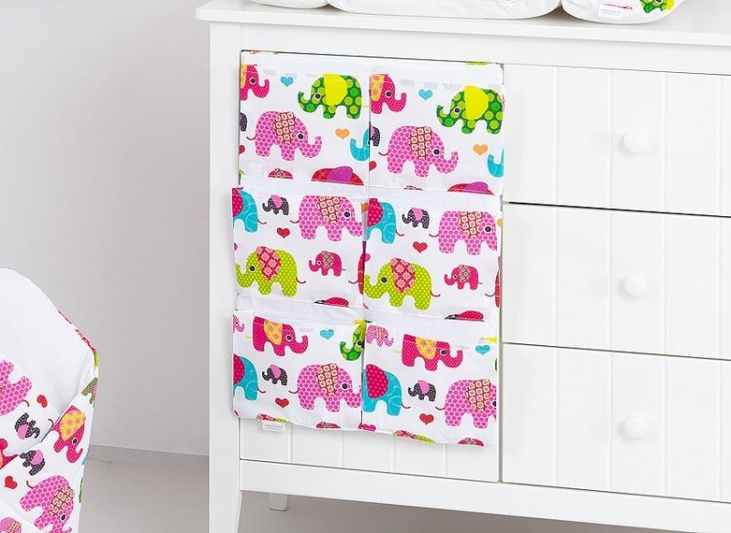 Mamo Tato Kapsář 40 x 65 cm - Sloni růžoví