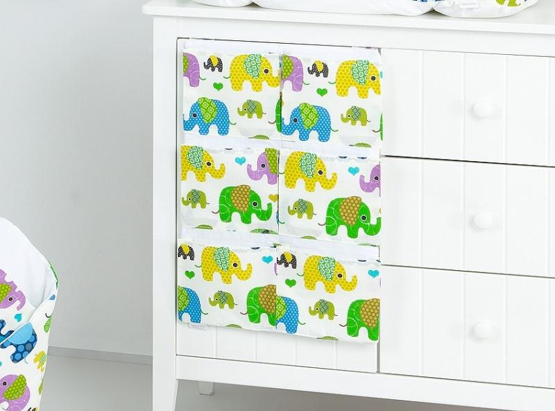 Mamo Tato Kapsář 40 x 65 cm - Sloni zelení