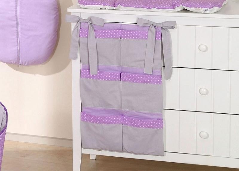 Mamo Tato Kapsář 40 x 65 cm - Slon fialový/šedá