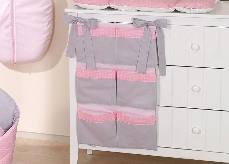 Mamo Tato Kapsář 40 x 65 cm - Slon růžový/šedá
