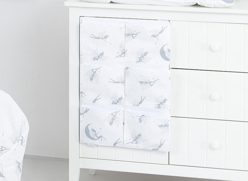Kapsář 40 x 65 cm - Víly šedé