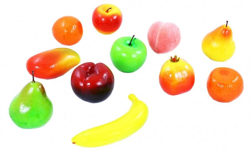 Ovoce v síťce, polystyrenové