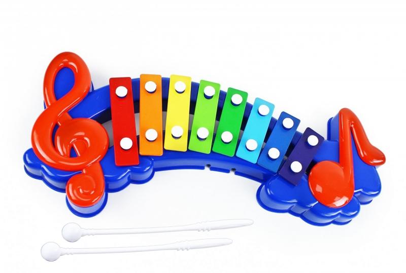 Xylofon velký v krabici
