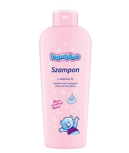 NIVEA Dětský šampón BAMBINO  - s vitamínem B3,400ml