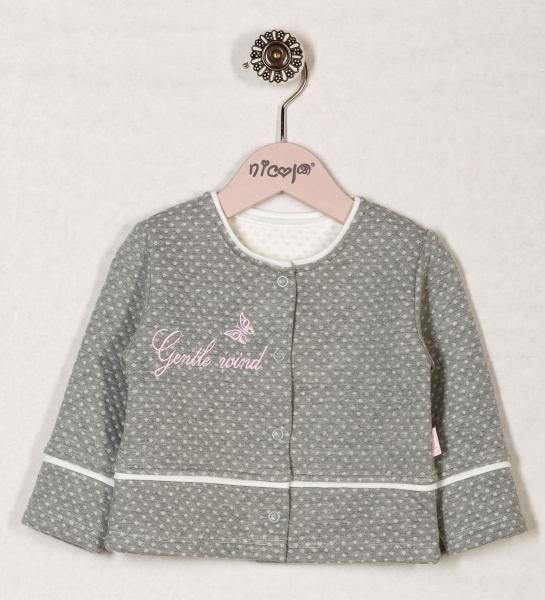 Kabátek/sáčko RŮŽOVÁ PAMPELIŠKA, roz. 98, Velikost: 98 (24-36m)