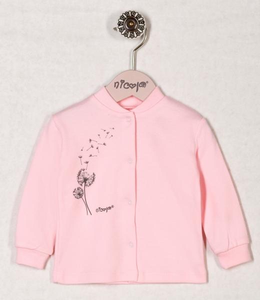 Bavlněná košilka RŮŽOVÁ PAMPELIŠKA, roz. 74, Velikost: 74 (6-9m)