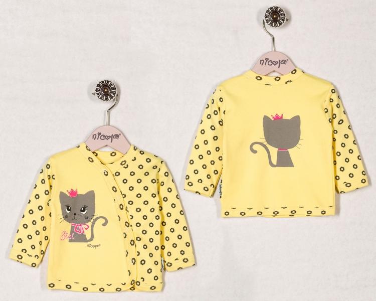Bavlněná košilka SISI, roz. 56, Velikost: 56 čepičky obvod
