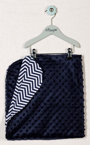 Dětská deka, dečka OCEÁN 75x75 - MINKY, bavlna