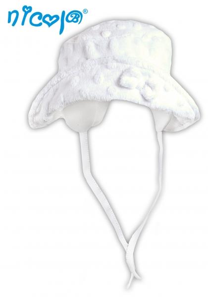 Jarní/letní klobouček EXCELLENT GIRL - na zavazování, roz. 68, Velikost: 68 (4-6m)