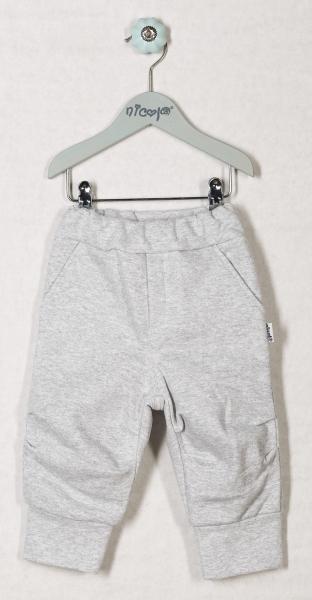 Tepláčky, kalhoty ŽELVIČKA - šedé, roz. 80, Velikost: 80 (9-12m)