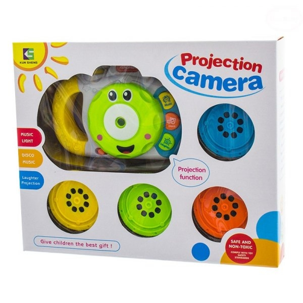 Fotografie Edukační hračka Fotoaparát se zvukem a světlem