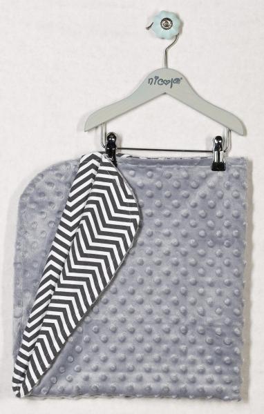 Dětská deka, dečka LIŠKA 75x75 - MINKY, bavlna