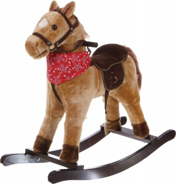 Eco toys Houpací koník se zvuky Western