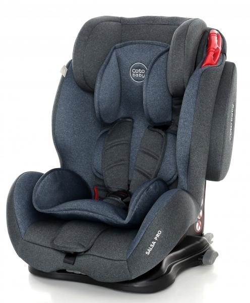 Coto Baby Autosedačka 9-36kg Salsa Isofix - Light blue/Melagne - 2020