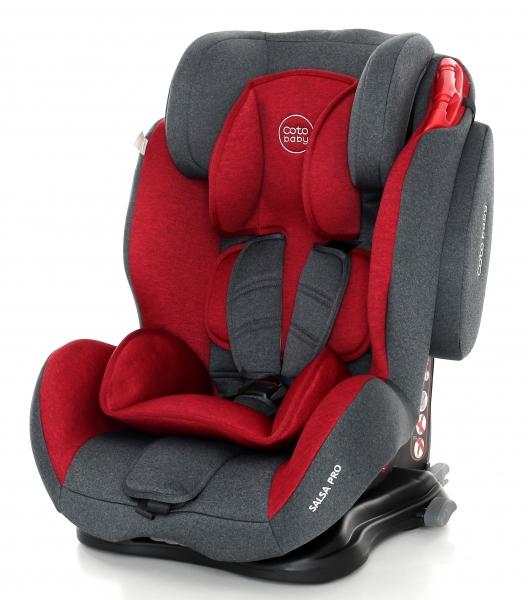 Coto Baby Autosedačka 9-36kg Salsa Isofix - Red/Melagne - 2020