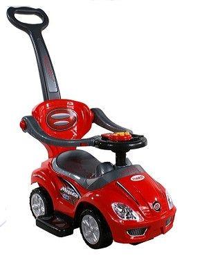 Euro Baby Jezdítko,odstrkovadlo, odrážedlo Car - červené