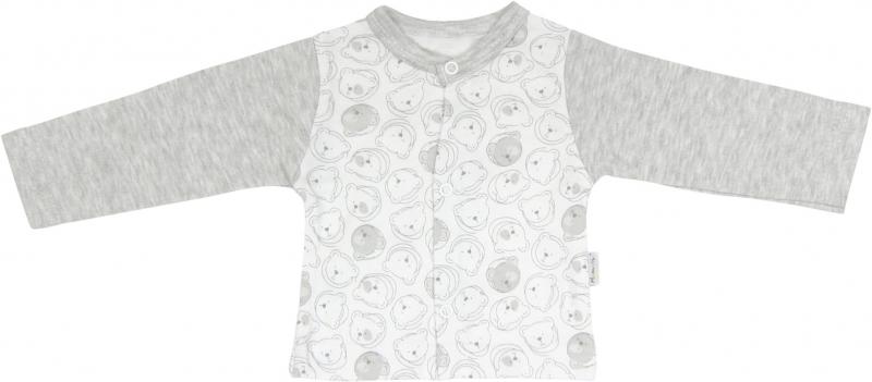Bavlněná košilka Veselí medvídci, roz. 74, Velikost: 74 (6-9m)
