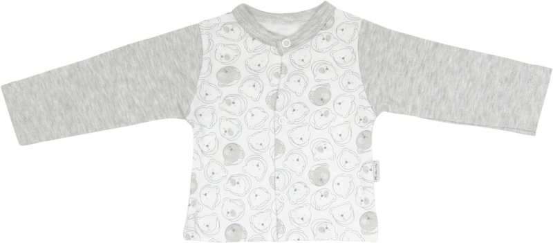 Bavlněná košilka Veselí medvídci, roz. 80, Velikost: 80 (9-12m)