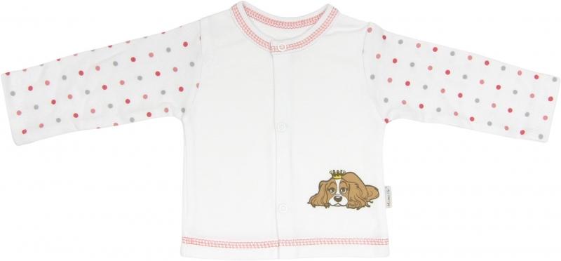 Bavlněná košilka Pejsek, roz. 68, Velikost: 68 (4-6m)