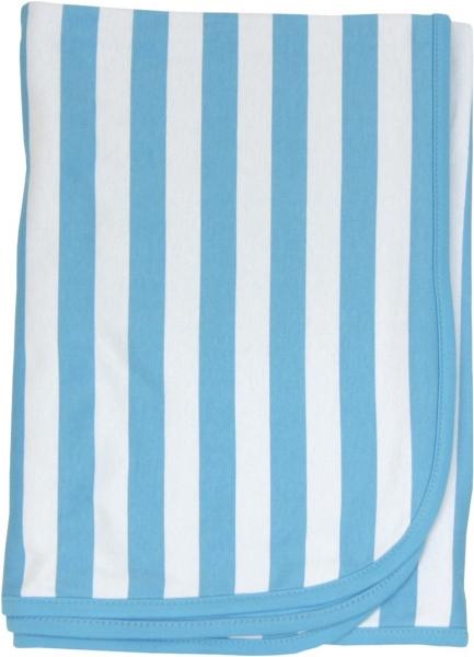 Dětská deka, dečka Lev proužek 80x90 - bavlna