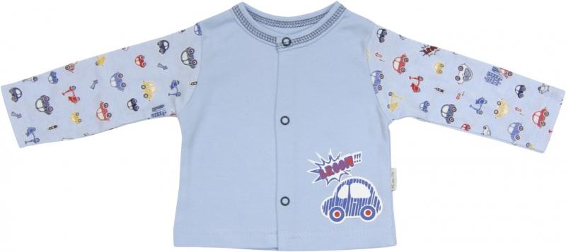 Bavlněná košilka Veselé autíčko, roz. 74, Velikost: 74 (6-9m)