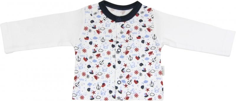 Bavlněná košilka Parník, roz. 80, Velikost: 80 (9-12m)