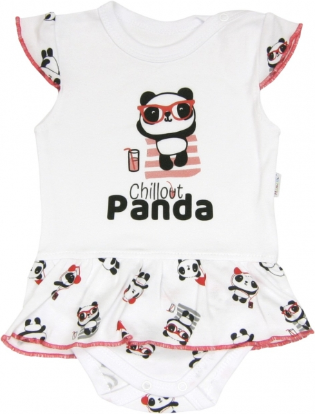 Sukničkobody Panda - krátký rukáv