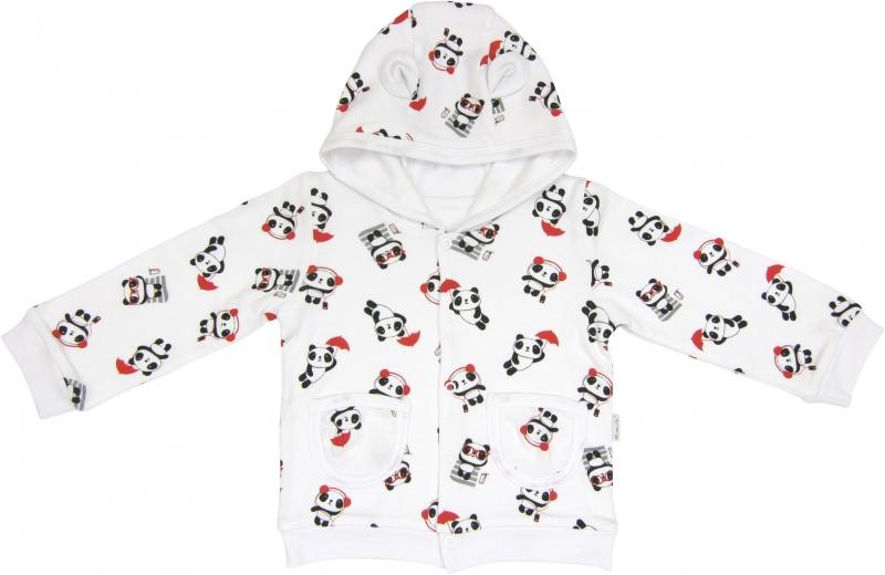 Mikinka s kapucí Panda, roz. 68