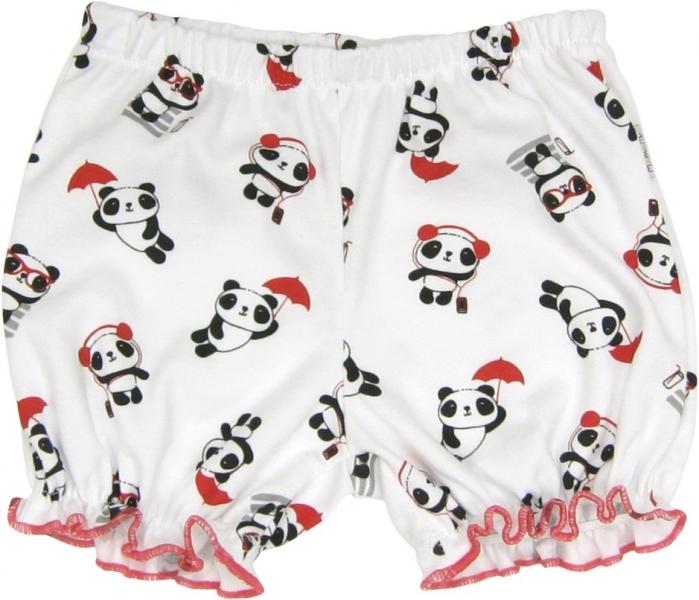 Bavlněné kalhotky, kraťásky Panda, roz. 86, Velikost: 86 (12-18m)