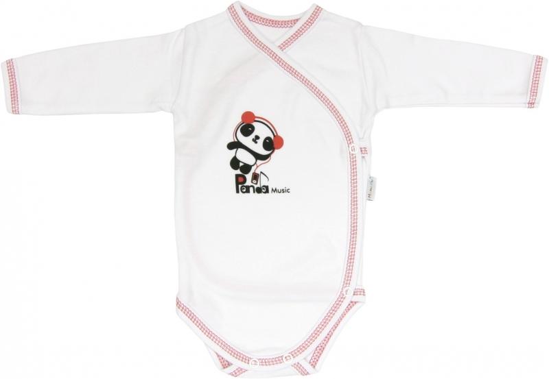 Body Panda - dlouhý rukáv - zapínání bokem