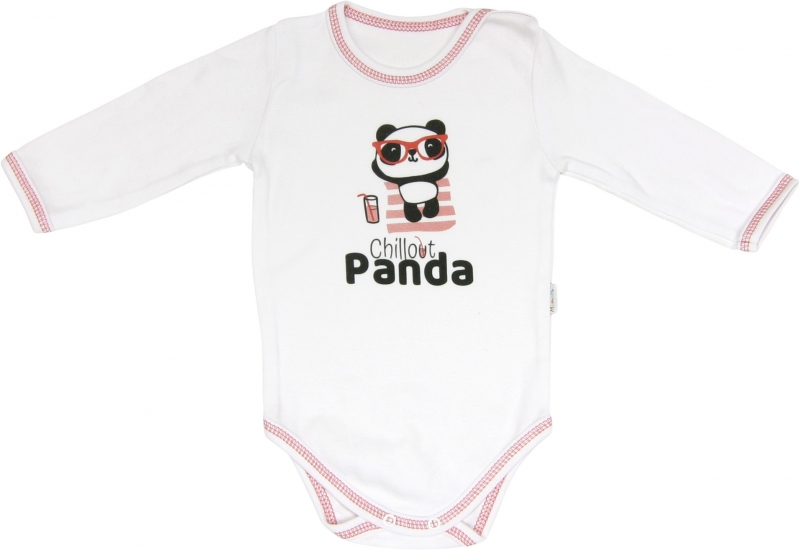 Body Panda - dlouhý rukáv, roz. 98, Velikost: 98 (24-36m)