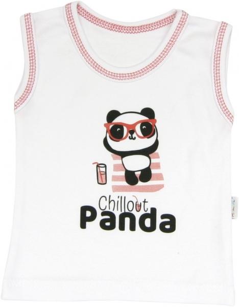 Bavlněné tilko Panda, roz. 92, Velikost: 92 (18-24m)