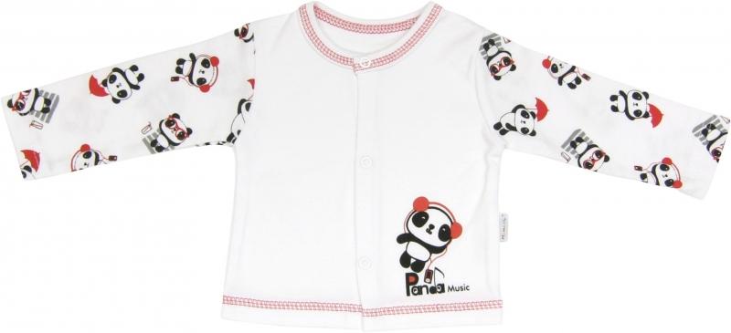 Bavlněná košilka Panda, roz. 80, Velikost: 80 (9-12m)