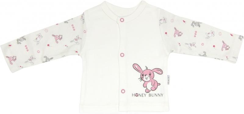 Bavlněná košilka Zajíček, roz. 68, Velikost: 68 (4-6m)