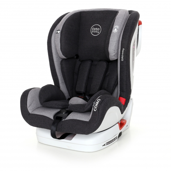 Coto Baby Autosedačka 9-36kg Como Isofix 2018 - Grey/Melagne