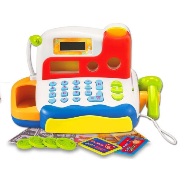 Dětská elektronická pokladna s příslušenstvím