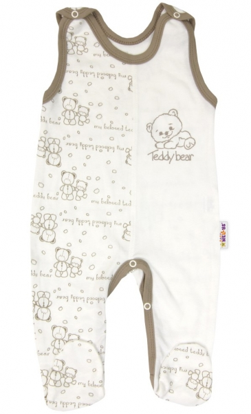 Kojenecké bavlněné dupačky vel. 56 pro předčasně narozené děti Baby Teddy