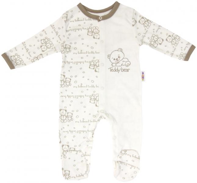 Kojenecký bavlněný overálek vel. 56 pro předčasně narozené děti Baby Teddy